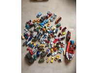 Die cast & other toy cars & other vehicles - over 100