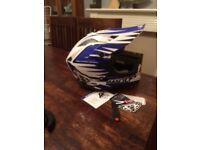 Brand new wolf sport moto x helmet