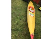 Yellow kayak canoe Boats, Kayaks & Jet Skis in Southside