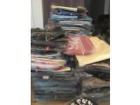 Job lot of over 500 retro vintage bags