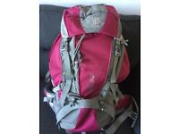 60-70 litre backpack