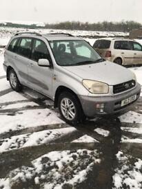 Toyota Rav 4, Petrol,1years Mot today, 120k 5dr, great winter car,£950 ono