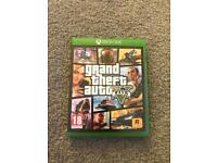 GTA 5 For Xbox One immaculate condition (NO SCRATCHES) Can Post (map poster included)