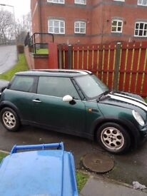 Mini one 2003 .700no offers