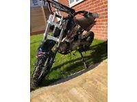 M2R Stomp Pit bike KX125F (Nearly new)