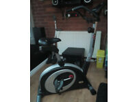 exercise bike with monitor