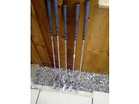 5 Golf Clubs For Sale Like New.
