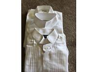 3 Moss bros shirts bundle