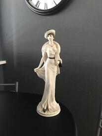 Beautiful Tall Elegant Lady Figurine