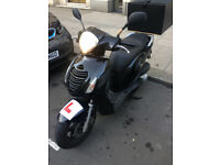 Honda PS 125cc 2012 Scooter 1 YEAR MOT - NEW TYRES - GOOD CONDITION - BOX NOT INCLUDED