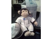 'Build-a -Bear' Monkey in space suit