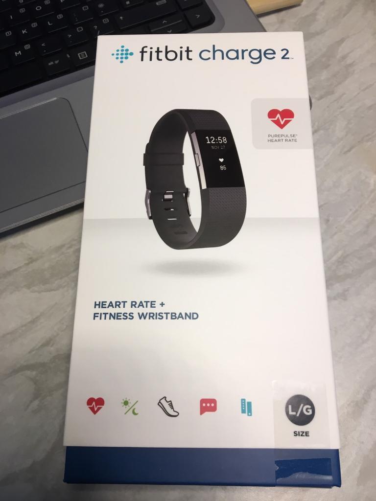 Fitbit Charge 2 Neu Large Sportelektronik Aktivitätstracker