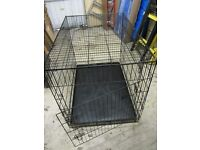 Dog Crate suit medium size dog. Folds flat