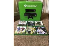 XBOX ONE 1TB FOR SALE £150 WITH 6 GAMES