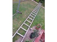 5M (16.4 ft) Aluminium ladder