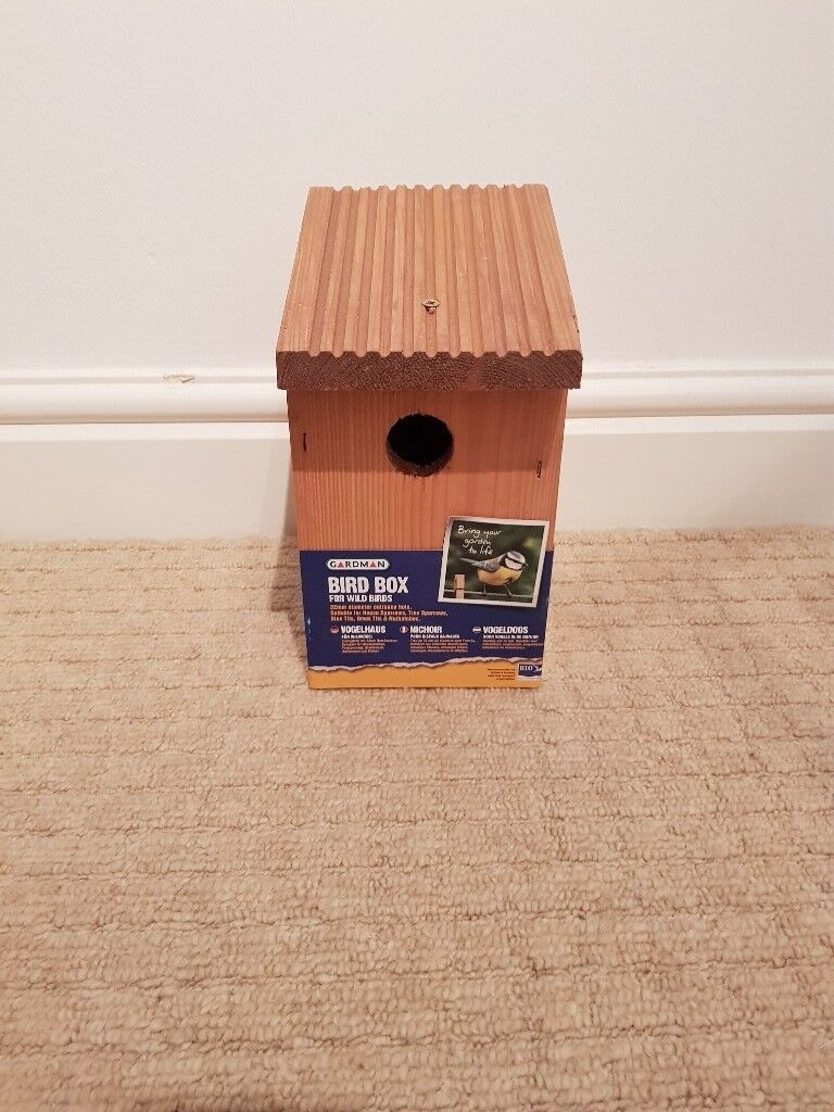 Gardman Bird Box for Wild Birds (Brand New)