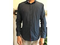 Navy Blue Zara Shirt