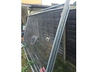Site Security Fence/Temporary Meta Meshl fencing