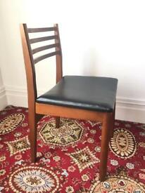 Vintage dining chairs x 4