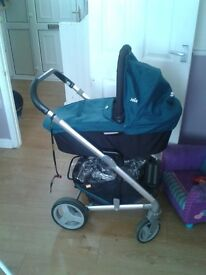 joie chrome pram