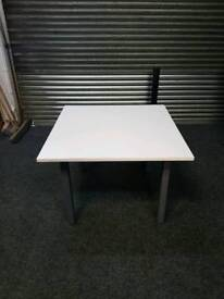 Grey Square Desk