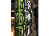 Duracell solar rechargeable 28500 pack of 6 battery