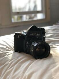 Pentax 6x7 67 film medium format plus one smc lens