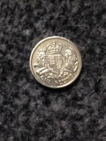 Old one pound coin
