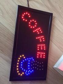 Cafe LED Shop sign