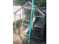 FREE glass greenhouse must be dismantled