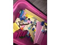 Full box of mixed lego