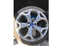 """Ford Focus st 225 style 18"""" alloys tyres"""