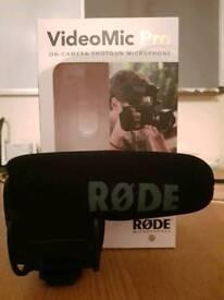 RODE VideoMicPro Shotgun Microphone