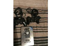 Ps2 controllers and max memory