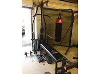 York 2001 & 1001 multigyms with brand new wire rope