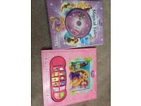 Disney princess sound books
