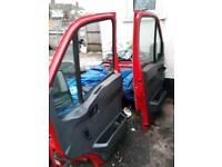 Iveco daily 2005 van doors 150 each good condtion