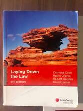 Laying down the law, 8th edition, Cook, Creyke,etc, amazing price Haymarket Inner Sydney Preview