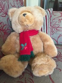 Christmas Teddy Bear. Brand New.