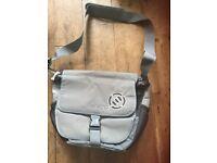 Animal Messenger shoulder Bag grey college student school - As new