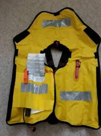 Brand new XM quick fit life jacket