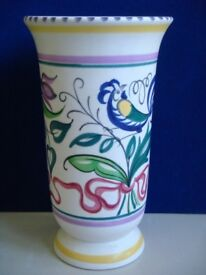 Collectable Poole Pottery Trumpet Vase