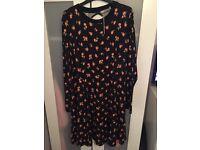 ASOS Plus floral dress size 20