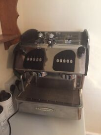 2 group head commercial coffee machine
