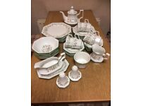 42 Piece Eternal Bow Dinner Service