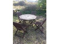 Kent Collection Patio Table and chairs