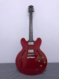 Epiphone ES 335 with Hard Case and Gig Bag