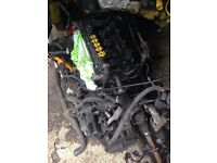 Seat VW ayp 1.8t 20v engine and gearbox