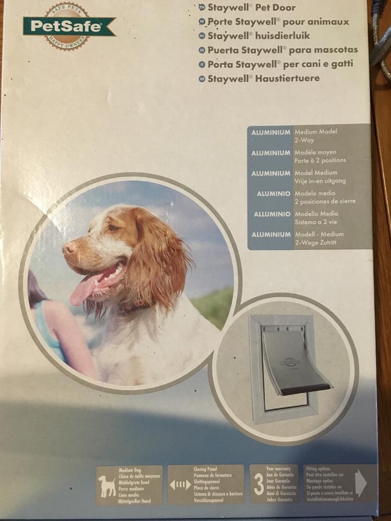 Staywell Pet Door Medium Dog In Bury St Edmunds Suffolk Gumtree