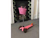 Pink Micro Mini Scooter